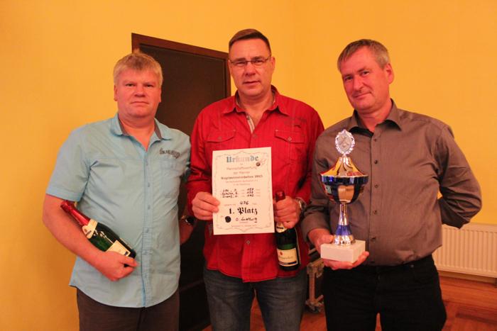 Berbisdorfer SV - Kegeln - Meisterschaft 2015 1.0-2
