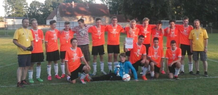 C-Jugend mit Pokalsieg